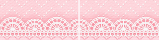 Light Pink Lace, Food Toppers or Flags.