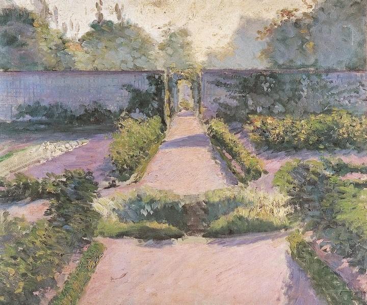Caillebotte - El huerto, Yerres 1877