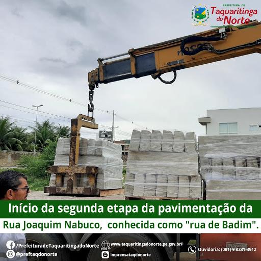 Maior Programa de Pavimentação da História de Taquaritinga