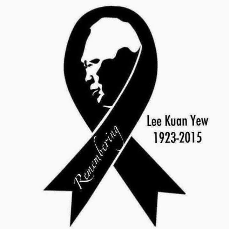The real story behind the LKY black ribbon
