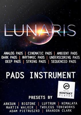 Cover da Library Luftrum - Lunaris Pads v1.5 (KONTAKT)
