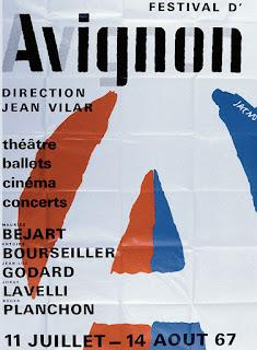 le festival d'Avignon, affiche, culture et loisirs, FLE, le FLE en un 'clic'