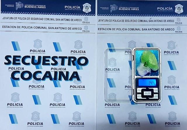 POLICIALES:  Detención en investigación por drogas