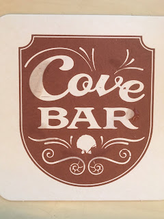 A coaster from Disney's the Cove Bar