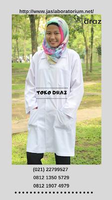 harga bikin jas laboratorium farmasi tahun 2019