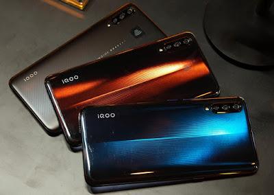 Smartphone Vivo de iQOO con tecnología 5G-TuParadaDigital