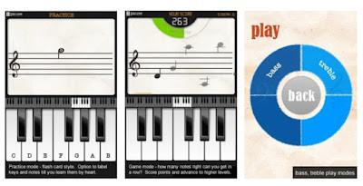 Note Trainer Lite Learn Piano برنامج جيد لمن يريدون تعلم النوته تلقائيا مع العزف