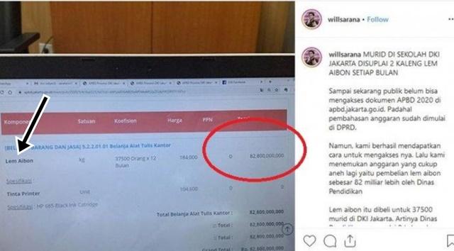 Fakta Lem Aibon Rp 82 Miliar - IG