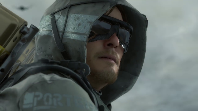 Norman Reedus in Death Stranding.