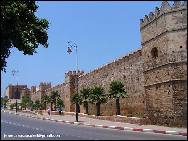 Remparts des Jardins Andalous à Rabat