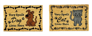 Spoilt Cat & Spoilt Dog Coir Doormats