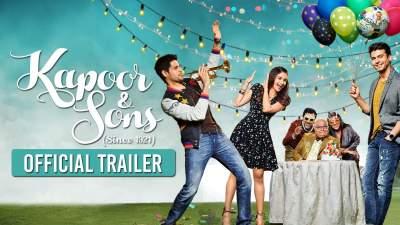 Kapoor & Sons 2016 Hindi Full HD Movies Free Download 480p Blu-Ray