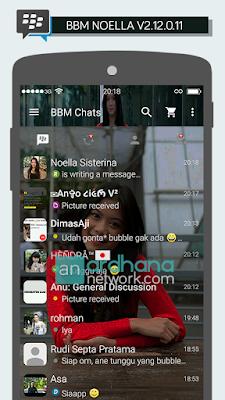 Preview BBM Noella Sisterina