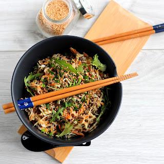 Illustration Salade de Lentilles à l'Asiatique