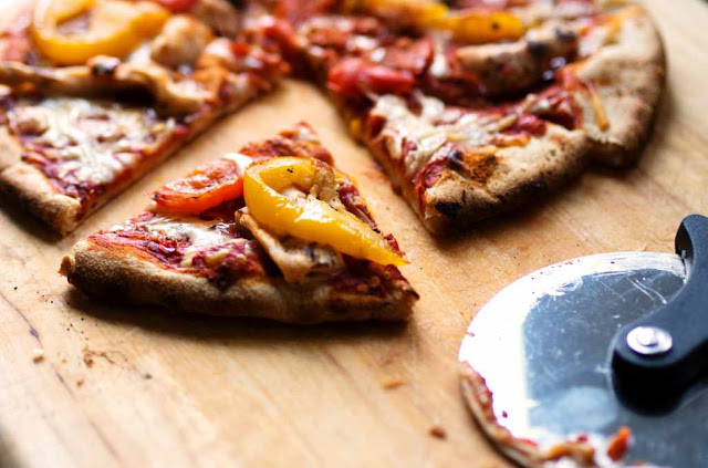 5 easy steps of  PIZZA RECIPE