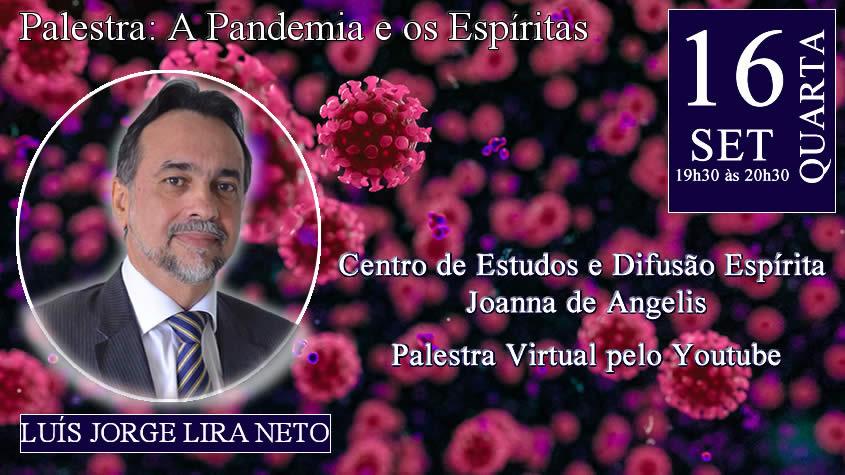 Palestra virtual com Luis Jorge Lira Neto