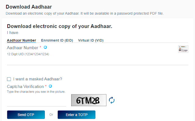 How To Download Aadhar Card Online?