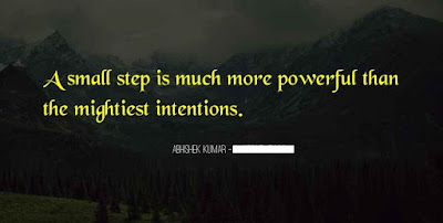 Small And Powerful Quotes