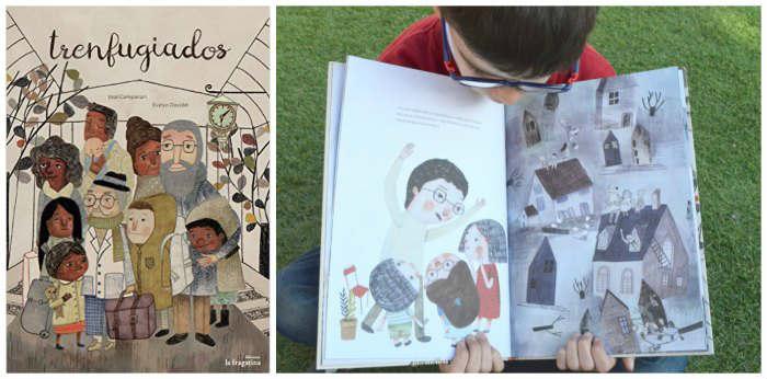 cuentos infantiles trenfugiados para hacer pensar, reflexionar, sentido ética moral niños