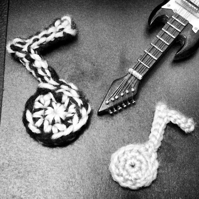 crochet musical notes - nephithyrion