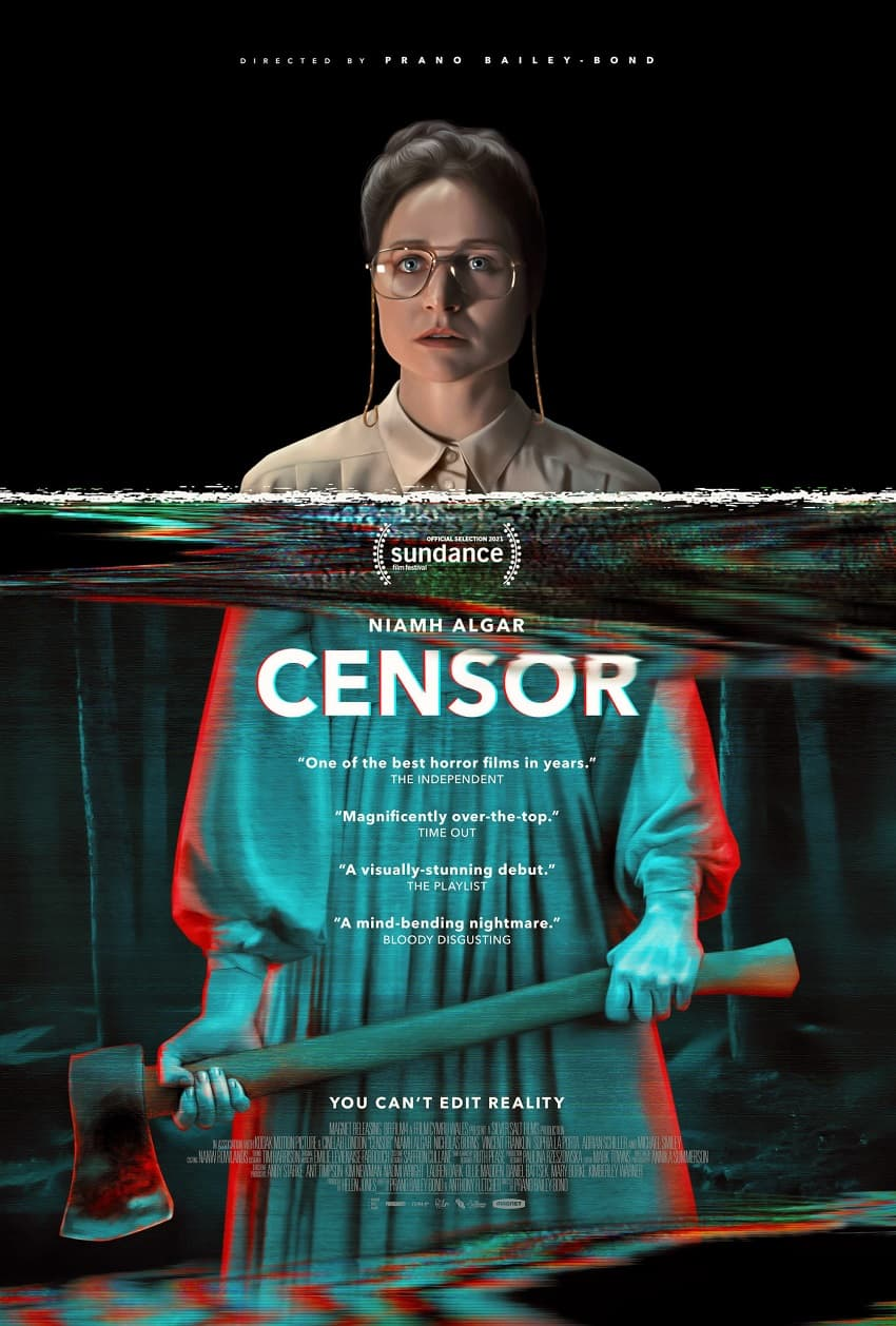 Сюрреалистичный хоррор «Цензор» выйдет в июне - трейлер и постер внутри