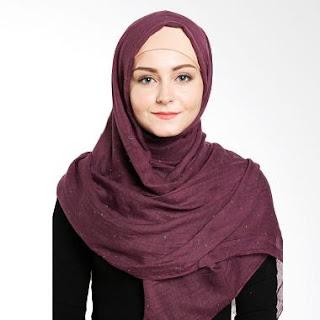 Jilbab Elzatta Polos Cantik
