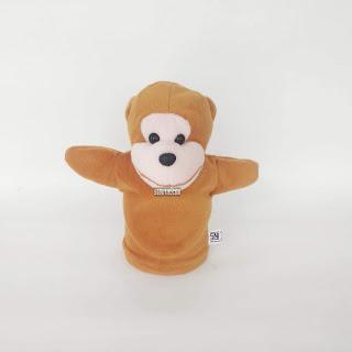 Boneka Tangan Monyet Animal Hand Puppets