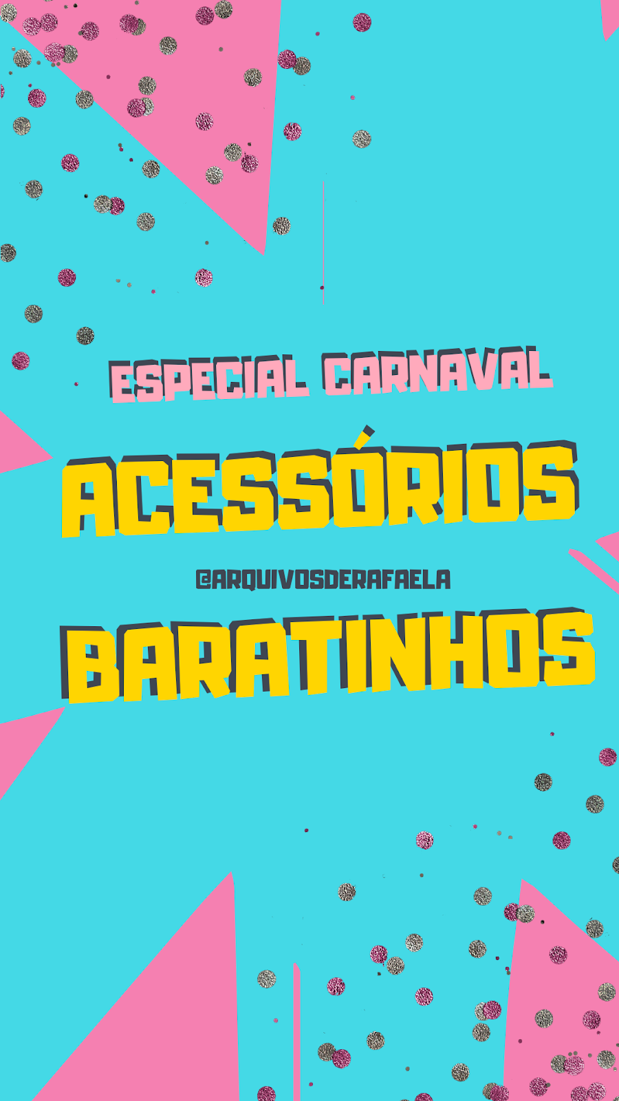 acessório pro carnaval 2020