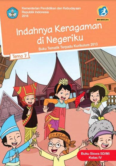 Buku Siswa Kelas 4 Tema 7 Revisi 2017 Kurikulum 2013
