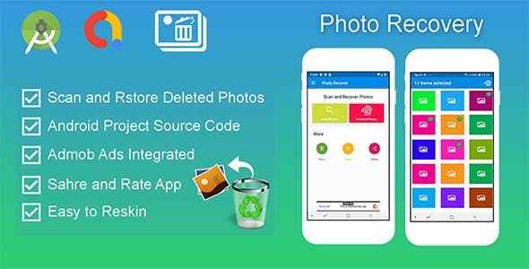 Recover Deleted Photo - Android Source Code Free Download