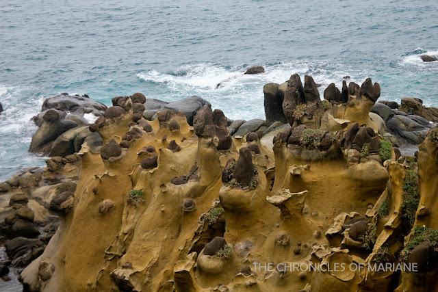 keelung rocks