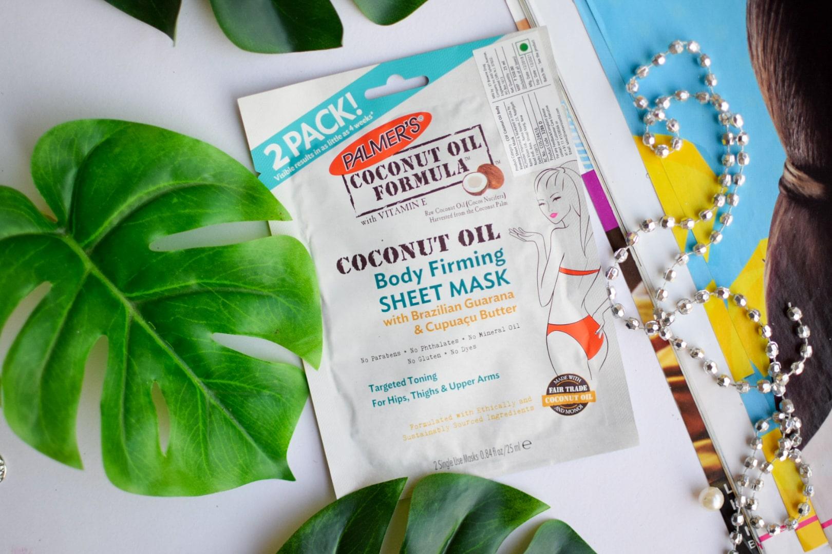Palmer's Coconut Oil Formula Body Firm Sheet Mask