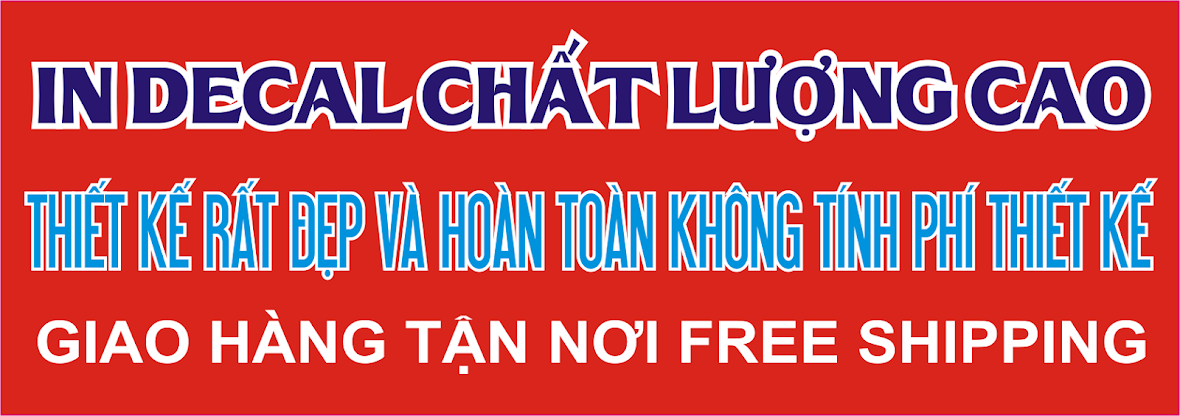 In decal chất lượng cao