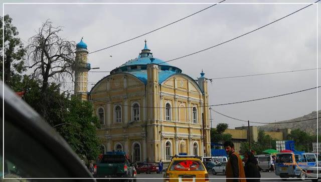 Shah-Do Shamshira em Cabul, no Afeganistão