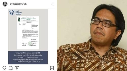 HMI Disebut Akan Gelar Aksi Gagalkan Jokowi Jelang 17 Agustus, Ade Armando: Kok Jadi Dagelan?