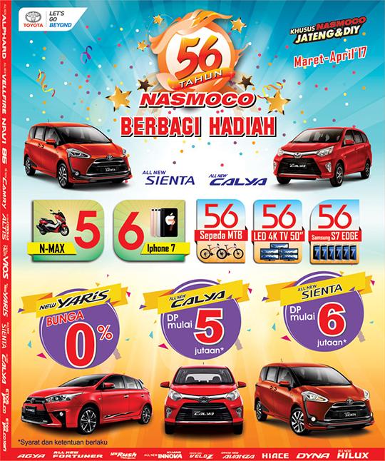 Promo 56 Tahun Toyota Karanganyar