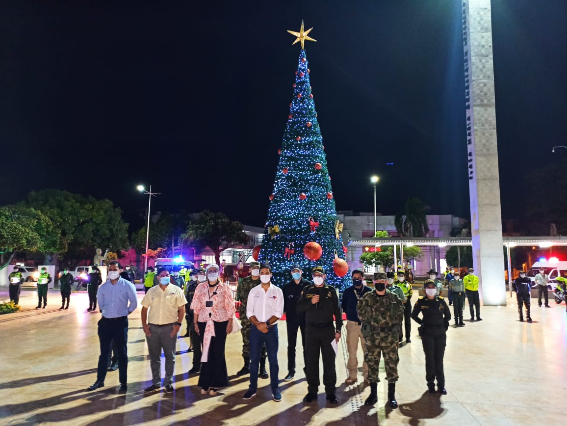 hoyennoticia.com, Dos mil 900 policías para el plan navidad de Valledupar