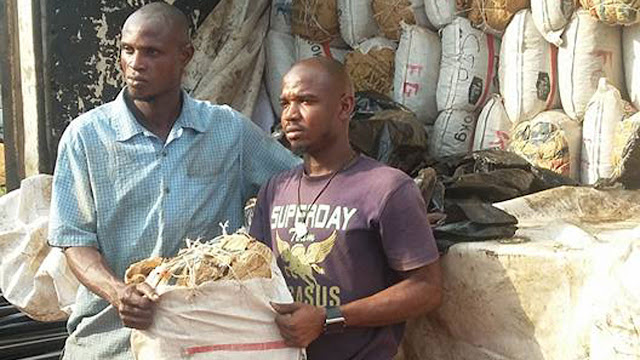 Photo: NDLEA intercepts 7,073 kg of Cannabis valued at N70.7 million, concealed in building materials