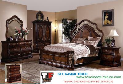 Harga Jual Set Kamar Mewah Alexandria | Furniture Jepara