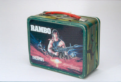 Rambo Steel Lunch box