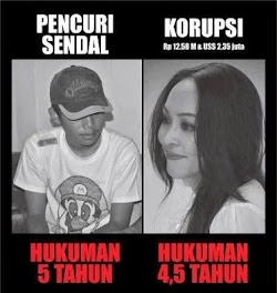 LUCUNYA HUKUM DI NEGARA INDONESIA