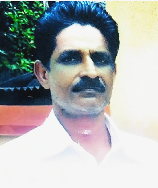 pathiyoor native suresh dead in pond