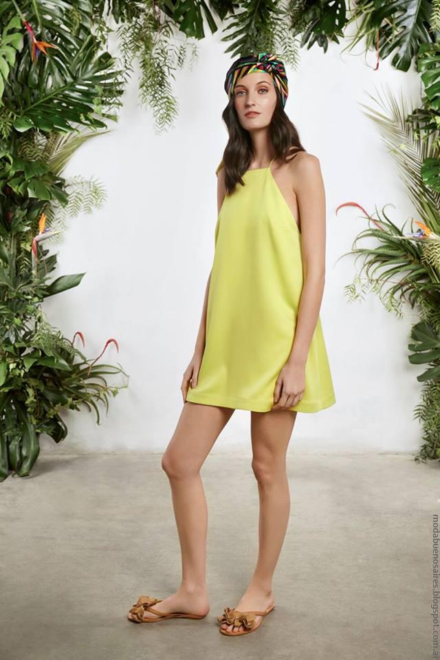Vestidos primavera verano 2017 ropa de mujer.