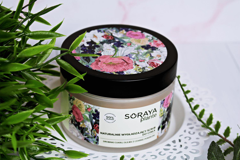 Soraya, Plante, Naturalnie wygładzający scrub do ciała