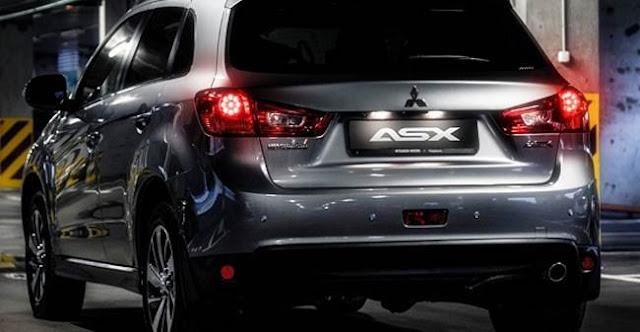 2018 Mitsubishi ASX Redesign