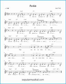 chord perdido lagu jazz standar