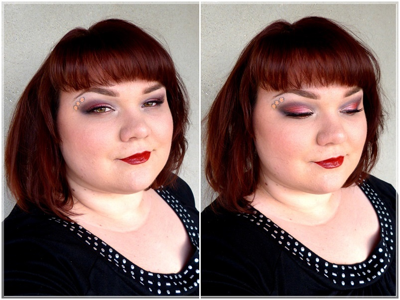 grunge smokey eye Make Up Look