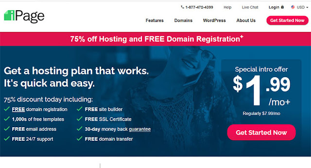 iPage: $1.99/mo (36 months) | Renews: $7.99: eAskme