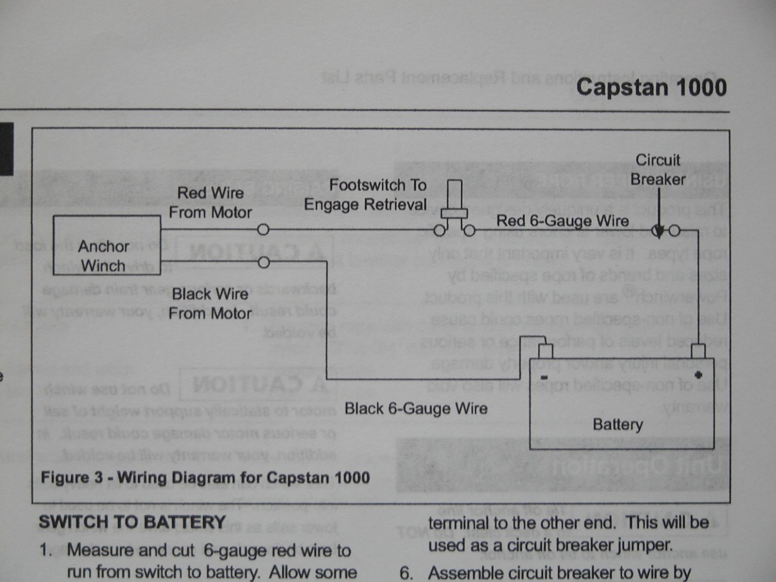 Viper Anchor Winch Wiring Diagram F150 Starter New Era Of Voyages S V Dash Windlass Installation Muir