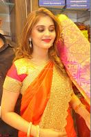 Surabhi looks stunning in Saree at Nakshatra Fashion Store Launch at Suchitra X Road 30.JPG